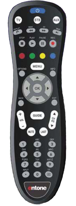 Remote Control Programming Instructions - Entone